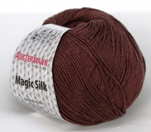 kol. 004 Kakao  Magic Silk 100% jedwab Austermann