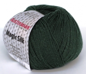 kol. 006 Lorbeer  Magic Silk 100% jedwab Austermann