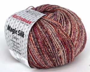 kol. 103 Beere Magic Silk Color 100% jedwab Austermann
