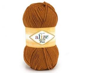 włóczka Alize Cotton Gold Plus 234 rudy