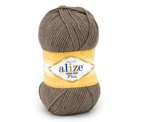 włóczka Alize Cotton Gold Plus 688 j. brąz